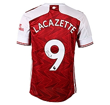 20/21 Lacazette Signed Boxed Shirt