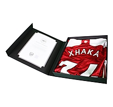 20/21 Xhaka Signed Boxed Shirt