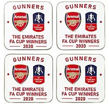 Arsenal FA Cup Winners 2020 Coaster Set