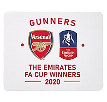 Arsenal FA Cup Winners 2020 Mouse Mat