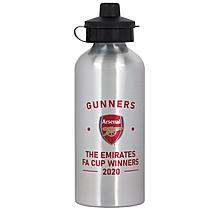 Arsenal FA Cup Winners 2020 Junior Water Bottle
