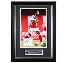 Arsenal Framed 20/21 Willock Signed Print