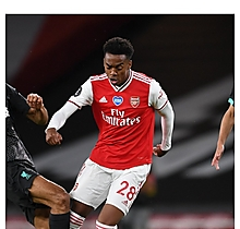 Arsenal NHS/BLM Match Worn Shirt V Liverpool - WILLOCK
