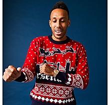 Arsenal London Skyline Christmas Jumper