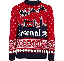 Arsenal London Skyline Christmas Jumper