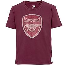 Arsenal Kids Rhinestone Crest T-Shirt