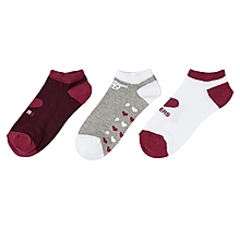 Arsenal Women 3 pk Trainer Socks