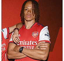 Arsenal Since 1886 Black Chrono Watch