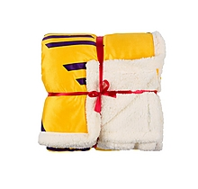 Arsenal Bruised Banana Sherpa Fleece Throw