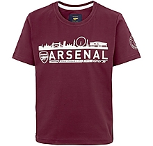Arsenal Kids Since 1886 London Skyline T-Shirt