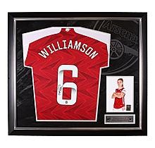 Williamson 20/21 Framed Signed Shirt