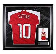 Arsenal Framed 20/21 Little Signed Shirt