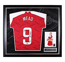 Arsenal Framed 20/21 Mead Signed Shirt