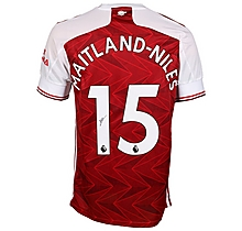 20/21 Maitland-Niles Signed Boxed Shirt