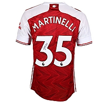 20/21 Martinelli Signed Boxed Shirt