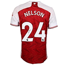 20/21 Nelson Signed Boxed Shirt