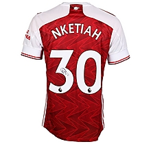 20/21 Nketiah Signed Boxed Shirt