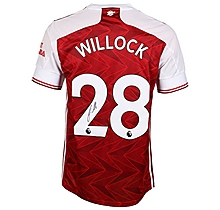 20/21 Willock Signed Boxed Shirt