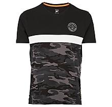 Arsenal Since 1886 Camo Panel T-Shirt