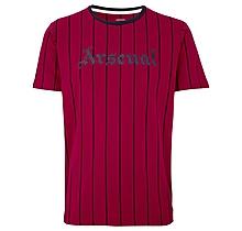 Arsenal Since 1886 Vertical Stripe T-Shirt