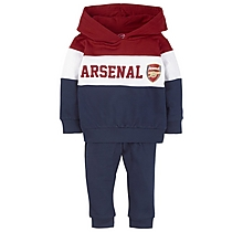 Arsenal Baby Hoody Panel Tracksuit