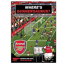 Arsenal Wheres Gunnersaurus Book