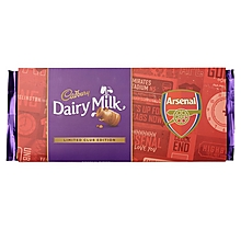 Arsenal Limited Edition Cadbury Dairy Milk