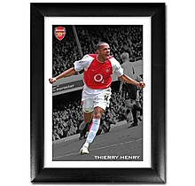 Arsenal Framed Thierry Henry V Liverpool Print