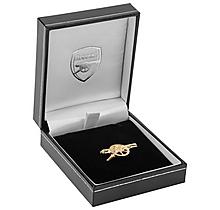 Arsenal 9ct Gold Pin Badge