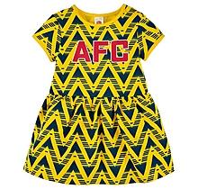 Arsenal Baby Bruised Banana Dress