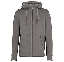 Arsenal Essentials Charcoal Zip Hoody