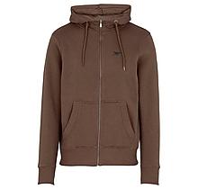Arsenal Essentials Brown Zip Hoody