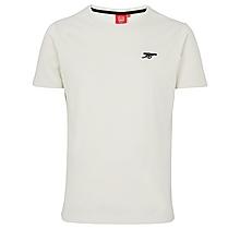 Arsenal Essentials Cream T-Shirt
