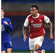 Arsenal Match Worn Shirt V Chelsea GABRIEL