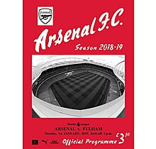 Arsenal v Fulham 01.01.2019