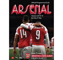 Arsenal v  Brighton & Hove Albion 05.05.2019
