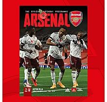 Arsenal v Aston Villa 08.11.2020