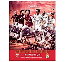 Arsenal Legends v Real Madrid Legends 08.09.2018