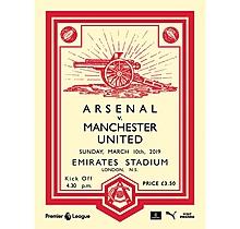 Arsenal v Manchester UTD 10.03.2019