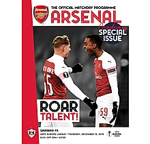 Arsenal v Qarabag FK 13.12.2018