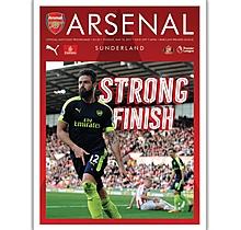 Arsenal v Sunderland 16.05.2017