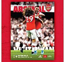 Arsenal v Aston Villa 22.09.2019