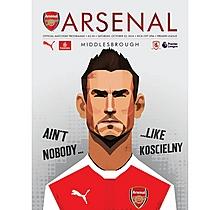 Arsenal v Middlesbrough 22.10.2016