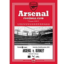 Arsenal v  Burnley 22.12.2018