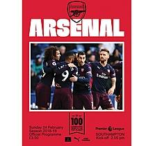 Arsenal v Southampton 24.02.2019