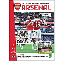 Arsenal v Brentford 26.09.2018