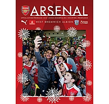 Arsenal v West Bromwich Albion 26.12.2016