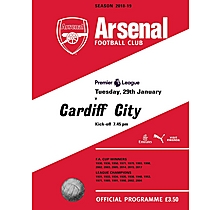 Arsenal v Cardiff City 29.01.2019