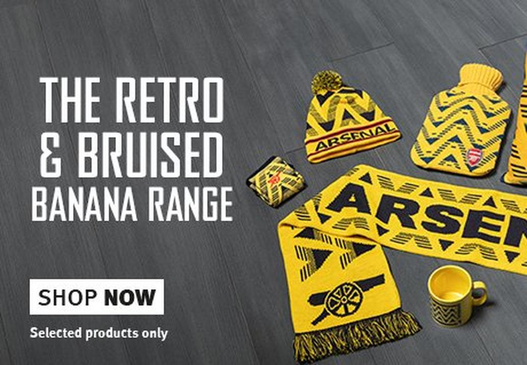 The Retro & Bruised Banana ranges