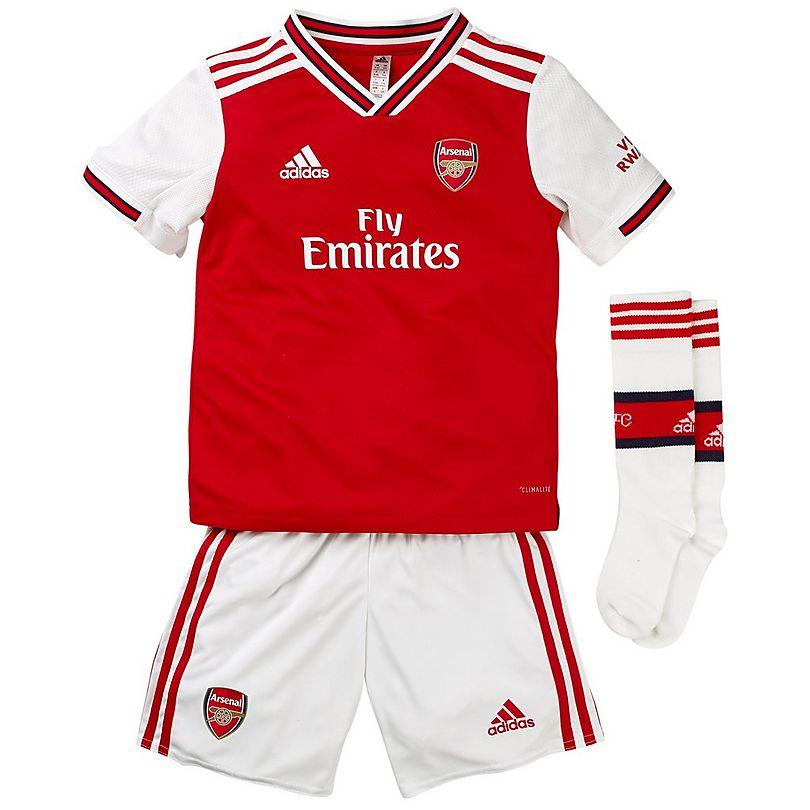 super popular 8c4ea b1fff Arsenal 19/20 Home Mini Kit | Official Online Store